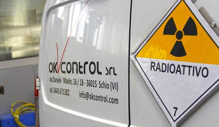 Controlli con metodo radiografico