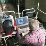 Controllo con metodo radiografico